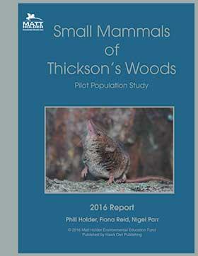 Mammal Report 2016